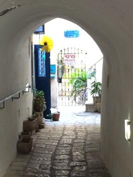 Ancient town of Jaffa, near Tel Aviv.