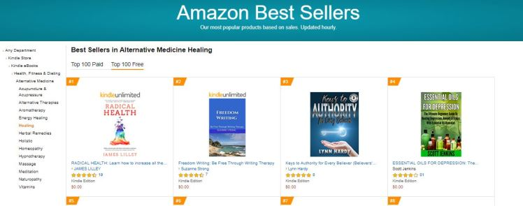 Number2FreedomWritingBestSellers