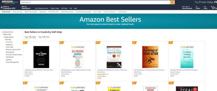 AmazonBestSellerTop5AustralianAmazon